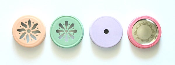 Image of Mason Jar Handpainted Lids