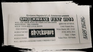 Image of Shockwave Fest Tickets - $10