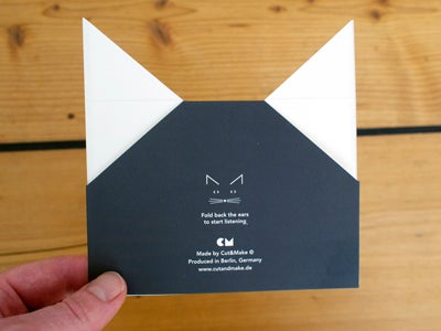 Image of 2 x The Black Cat Cards