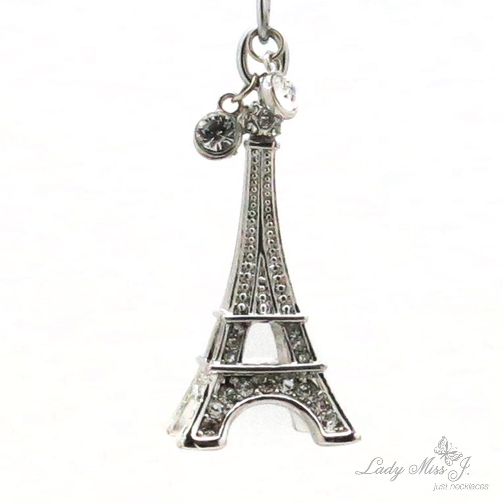 Paris tower sterling silver handmade tower shaped charm Tokyo tower Vintage 320821 silver tested 925 silver pendant