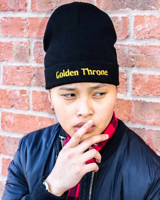 Image of Golden Throne Beanie