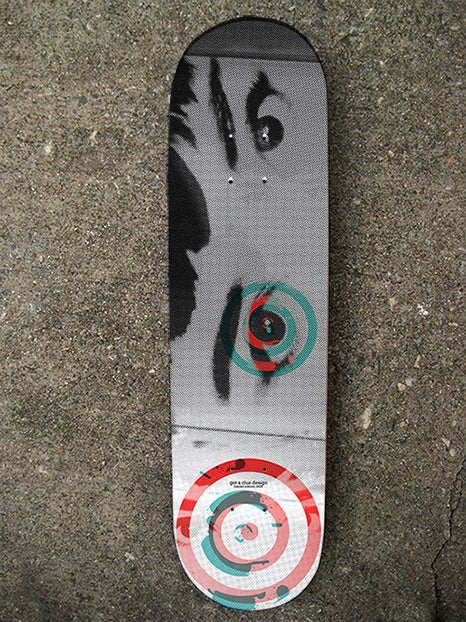 """The """"Audrey"""" Limited Edition Skate Deck"""