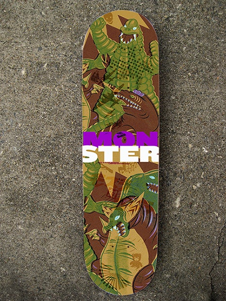 """The """"Monster"""" Limited Edition Skate Deck"""