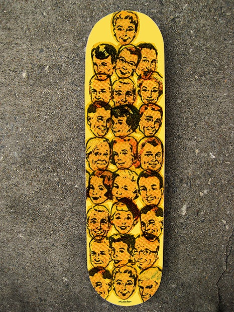"Image of ""Heads Up"" Limited Edition Skate Deck"