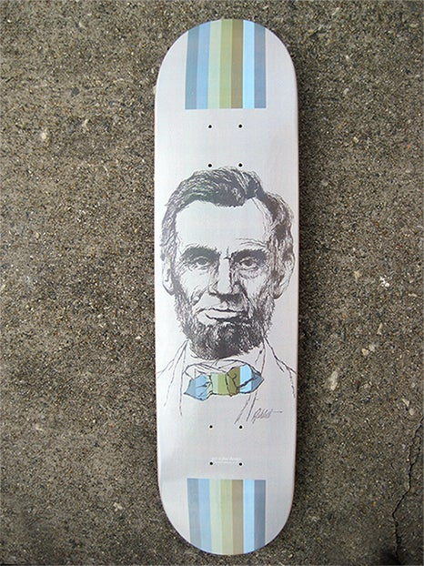"""""""Four Score & Seven Years Ago"""" Limited Edition Skate Deck"""