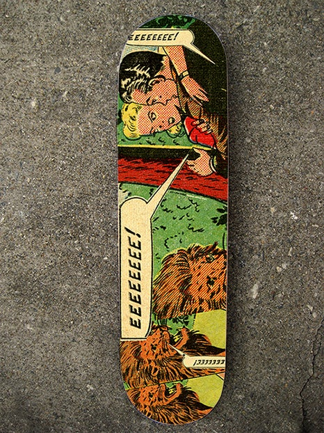 "Image of ""EEEEEEE!"" Limited Edition Skate Deck"