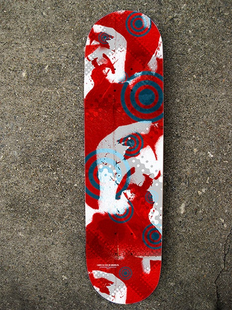 "Image of ""Lost Pilot"" Limited Edition Skate Deck"