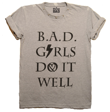 Image of B.A.D. Girls Do It Well Studded Tee