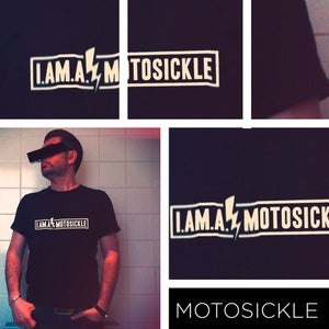 Image of The MOTO-Shirt Black