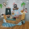 Captain Jack & The Treasure Island - Pirates wall decal sticker for nursery