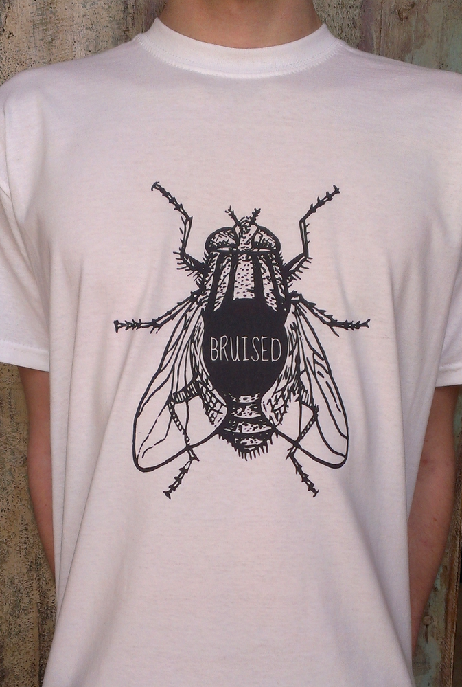 "Image of ""Bruised Fly"" T-Shirt"