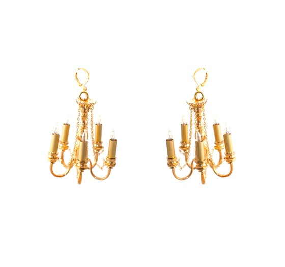 Image of Rare Chandelier earrings