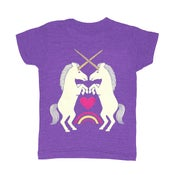Image of KIDS - Unicorns Purple