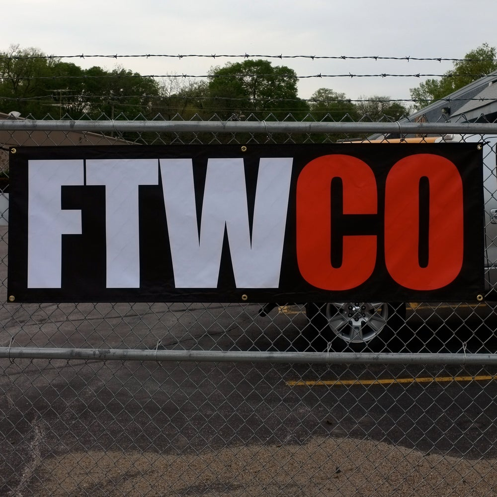 Image of 2x6 FTWCO Banner