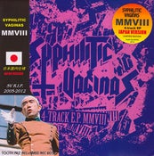 "Image of SYPHILITIC VAGINAS- MMVIII 7"" (JAPAN VERSION) (TR-06JP + HMSS/TR)"