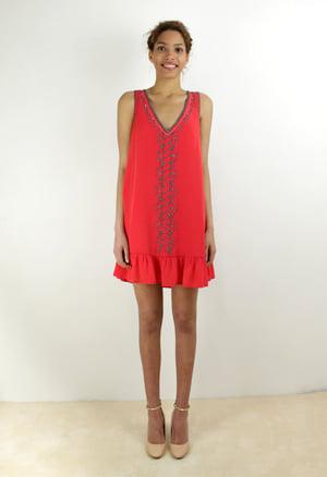 Image of EMBELLISHED DRESS