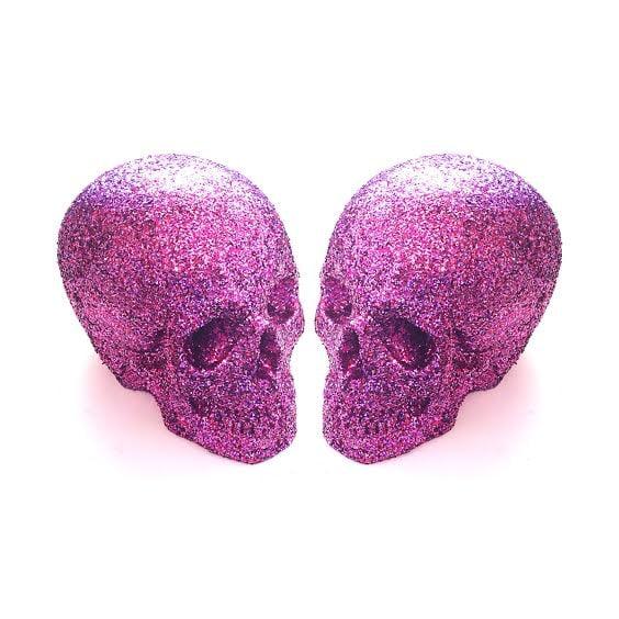 Image of Glitter Skulls
