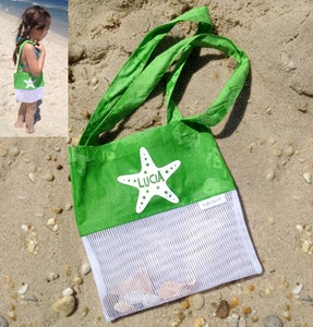 Image of {SMALL} SHELL or STARFISH Small Treasures Shell Bag