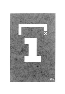 "Image of ""Starting Grid"" Stencils (P1B-A0545)"