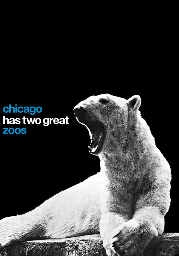 Image of chicago has two great zoos (smaller size)