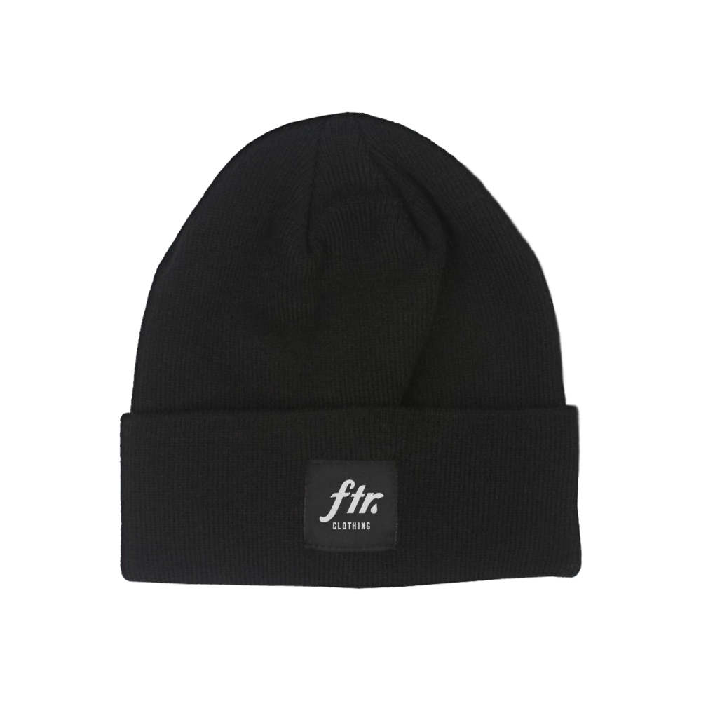 Image of FTR Beanie (Black)