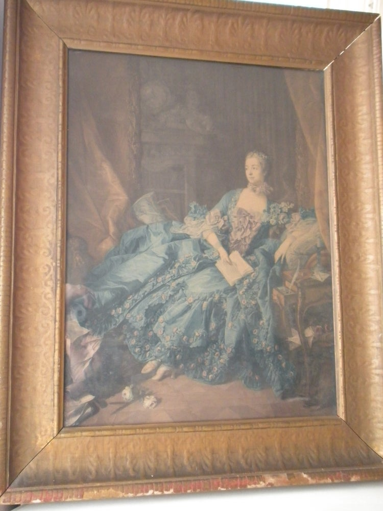 Image of Antique French Print
