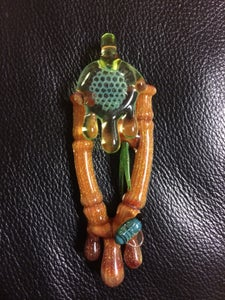Image of Joe Peters x Darby Bamboo Honey pendant