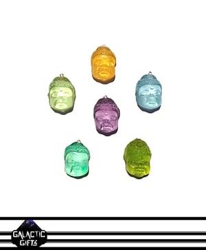 Image of Jennifer Umphress Sacred Aqua Emerald Buddha Pendant