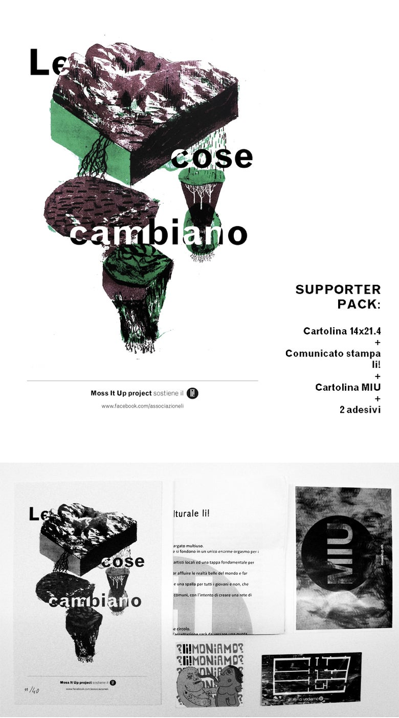 Image of LE COSE CAMBIANO-supporter pack