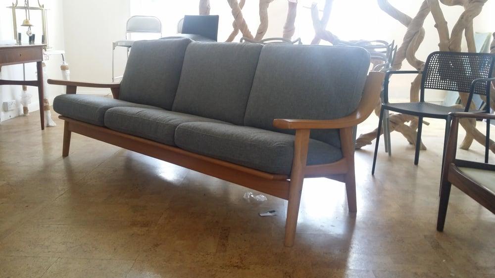 Image of 1970s hans wegner sofa