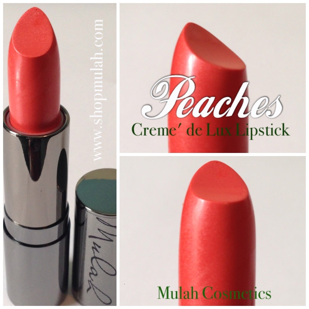 Image of Peaches Luxury Crème Lipstick