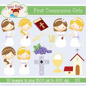 Image of First communion Girls