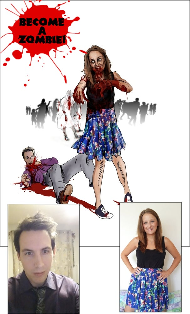 Image of Become a Zombie! (Quality Print Version)