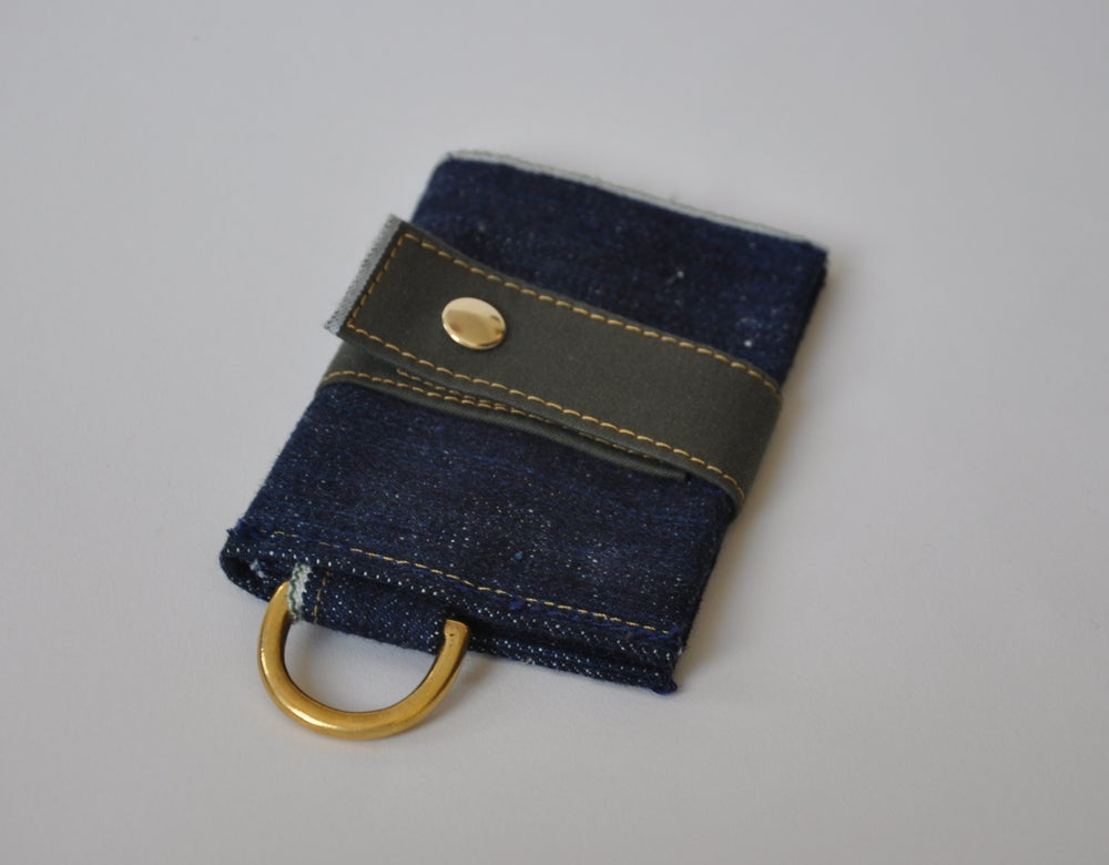 Image of Indigo Selvedge Denim Wallet