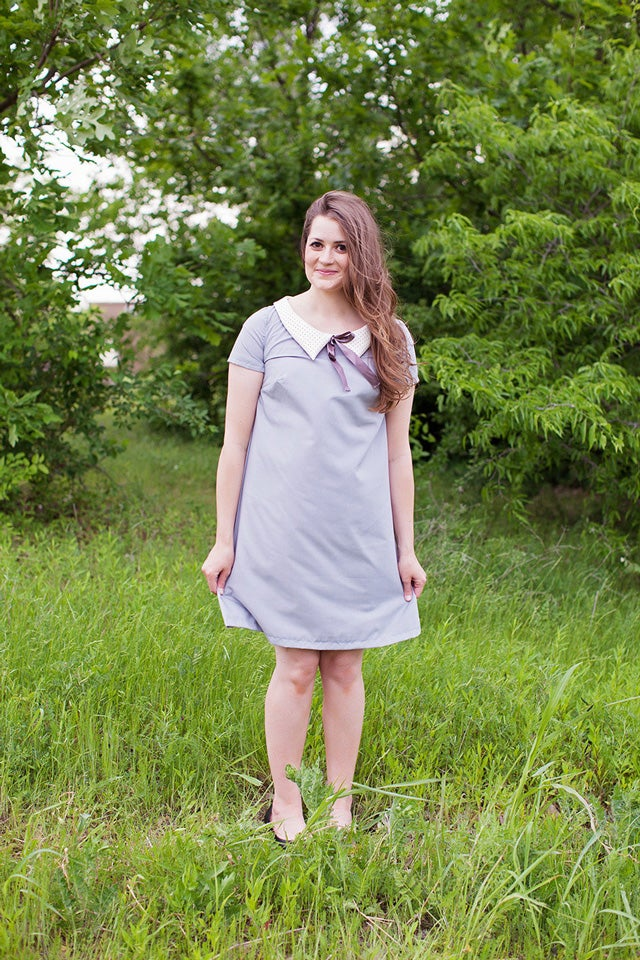 Image of the SOPHIE SHIFT dress pattern