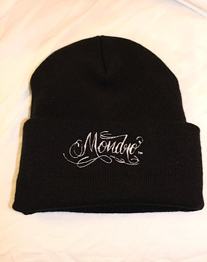 Image of Mondro Black Beanie