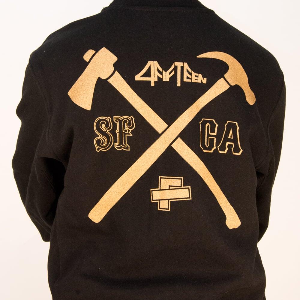 Image of Hella Local - theFword x 4fifteen collab - Crewneck Sweatshirt