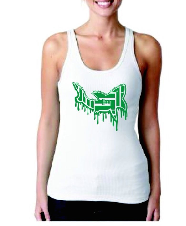 Image of Flying Shark (ladies tank)