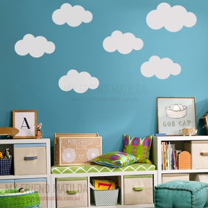 Image of Fluffy Clouds Set of 6