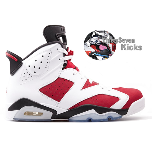 "Image of Jordan Retro 6 ""Carmine"""
