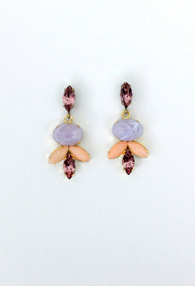 Image of JEWEL DROP EARRING