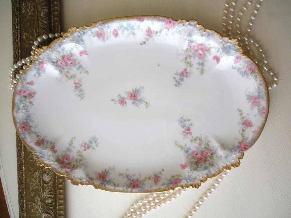 Image of Floral Limoges