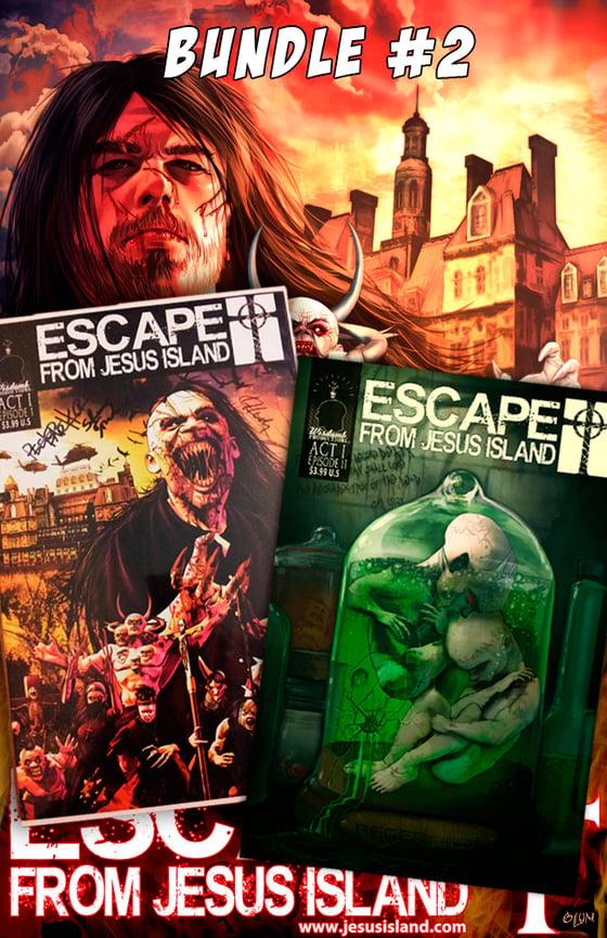 "Image of Bundle #2 - Autographed Comics + 11""x17"" Poster"