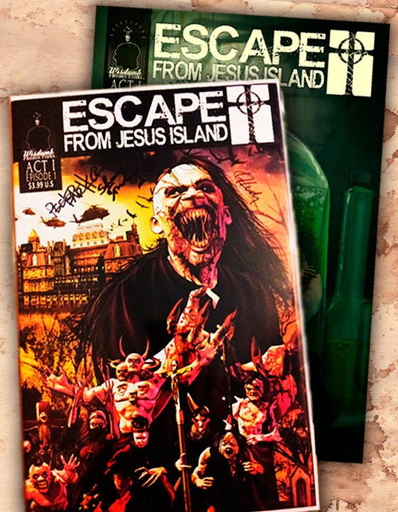 Image of Escape From Jesus Island, Episodes 1, 2, 3 & 4