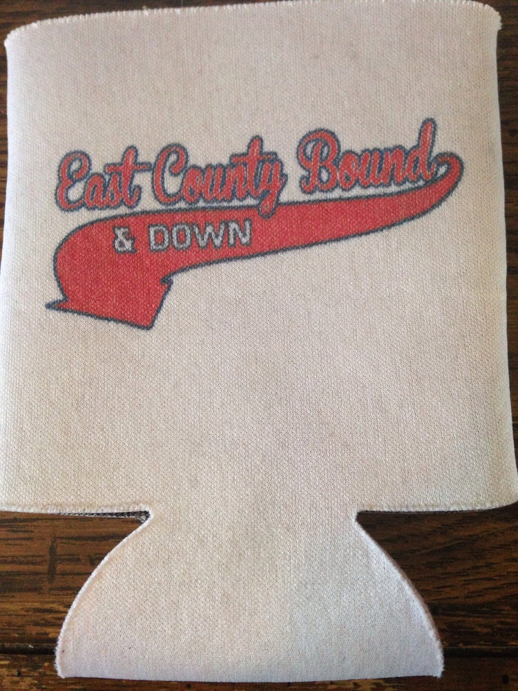 Image of Baseball style coozie