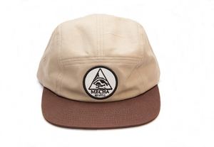 Image of Prang Wool 5 Panel Cap Camel/Brown