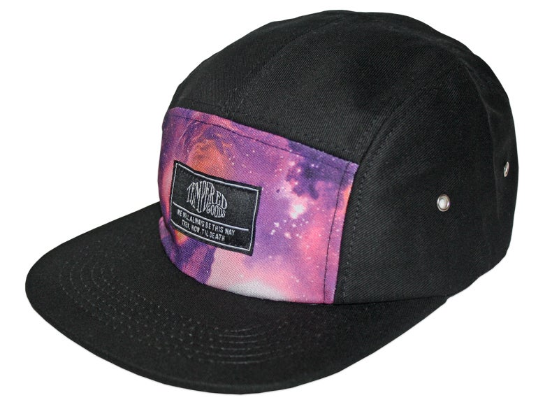 Image of 'TILL DEATH' FIVE PANEL ~ PURPLE BLAZE.