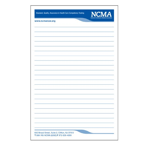 Image of Medium Notepad