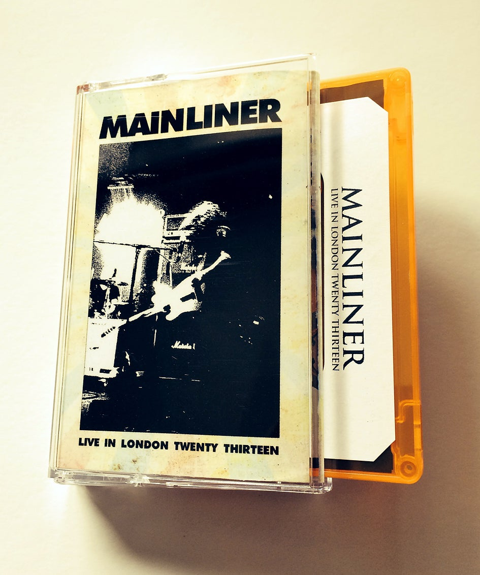 MAINLINER 'Live In London Twenty Thirteen' Cassette & MP3