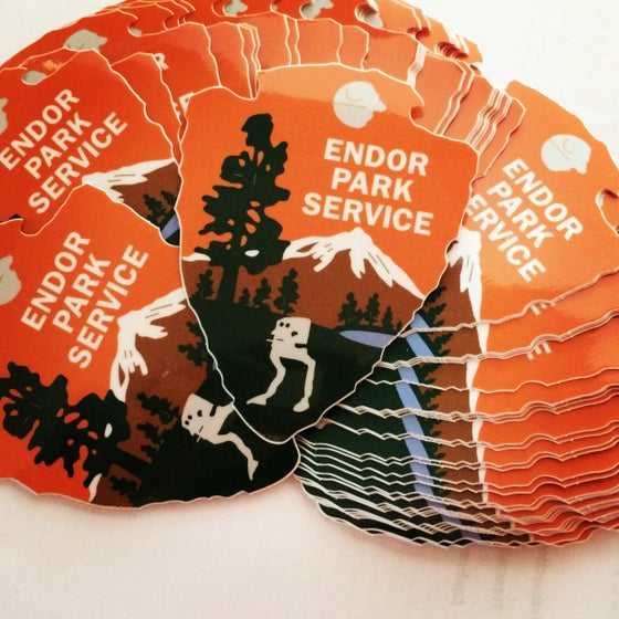 Image of Endor Park Service Series #1 Sticker